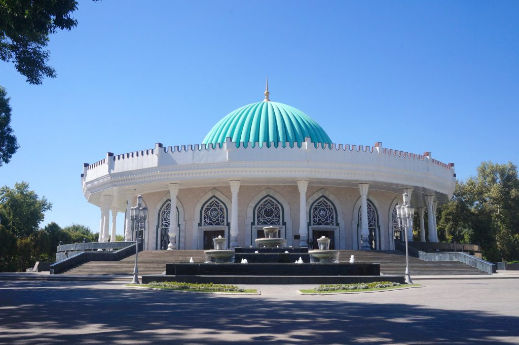 musée d'histoire des Timourides tachkent ouzbékistan