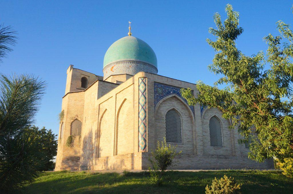 mausolée d'Abou Bakr Kaffal Chachi tachkent ouzbékistan