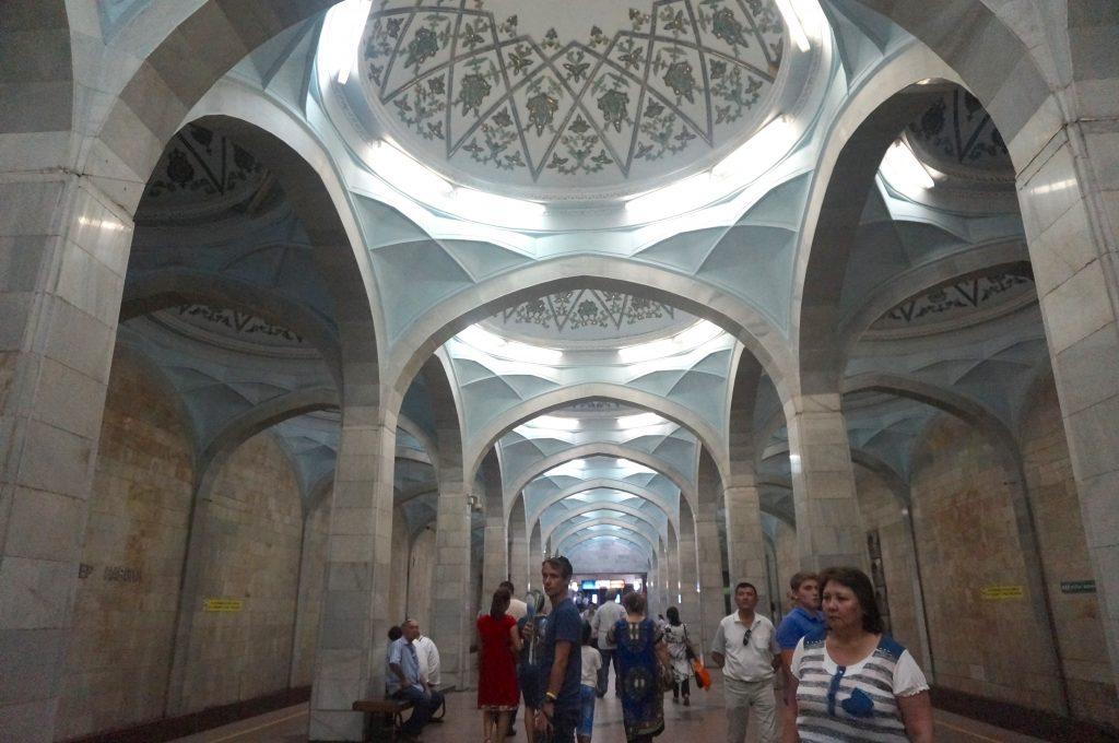 métro Ouzbékistan tachkent