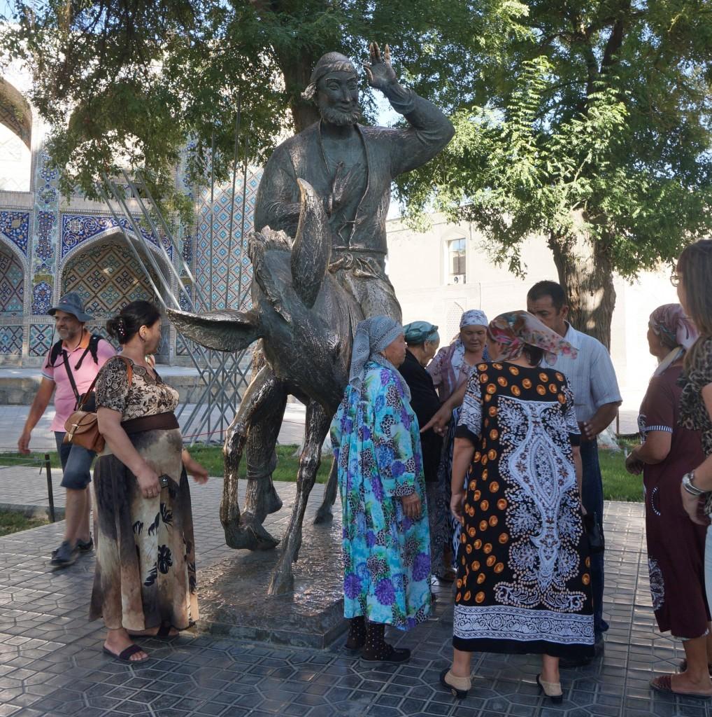 statue de Nasruddin Hodja