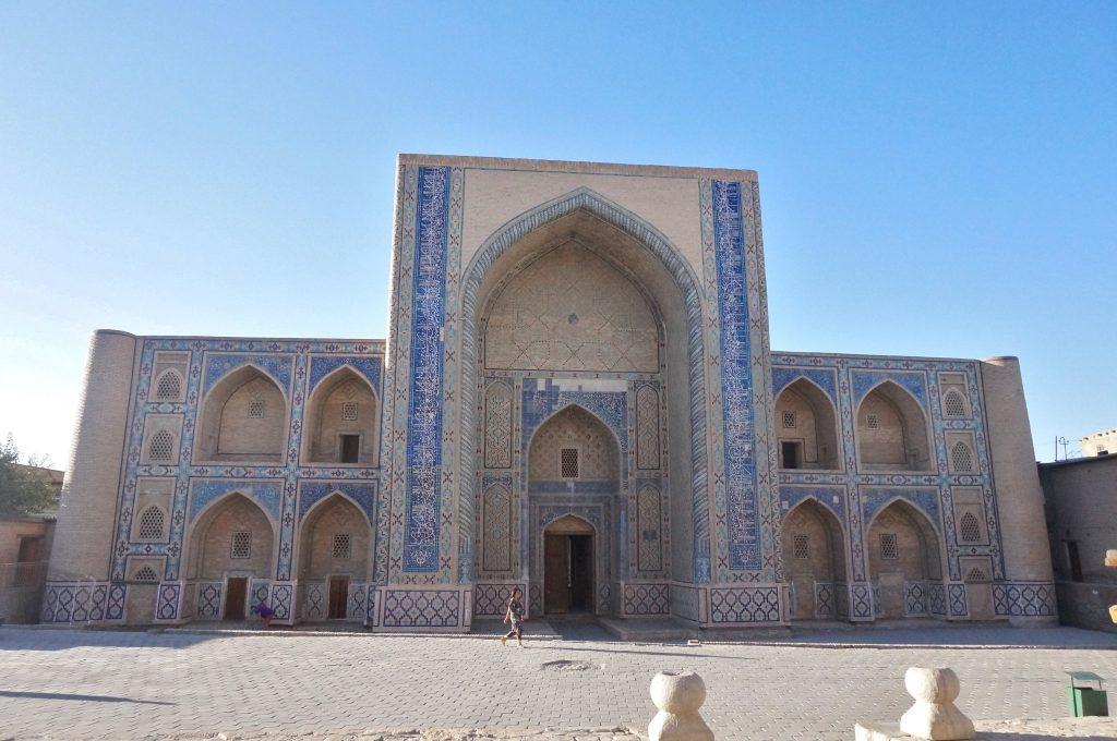 mosquée d'Ulugh Beg boukhara ouzbekistan