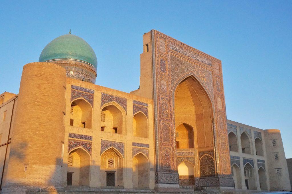 médersa Mir Arabe ouzbékistan boukhara