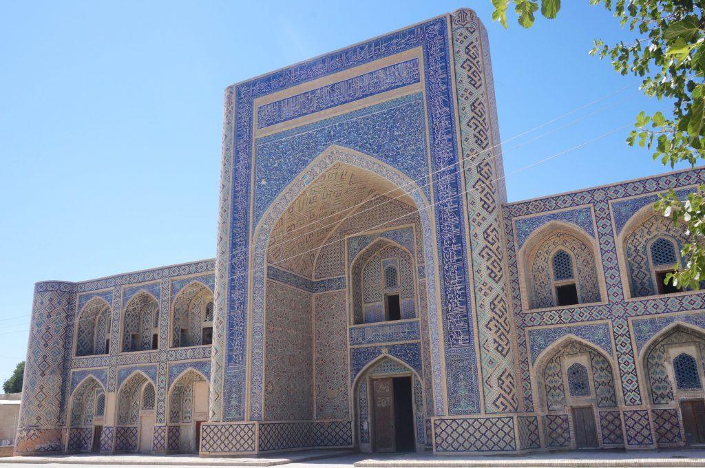 mosquée d'Abdoulla-Khan ouzbékistan boukhara