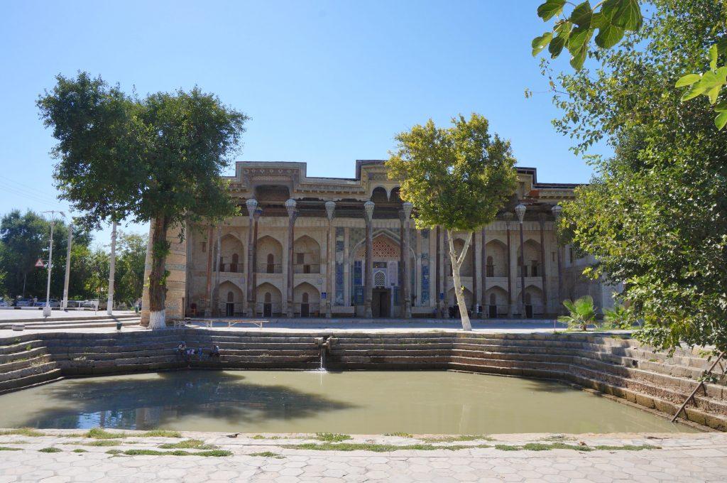 ensemble Bolo-Khaouz ouzbékistan boukhara