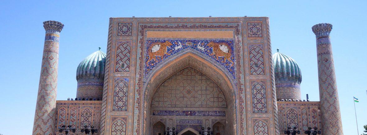 samarcande asie centrale ouzbékistan