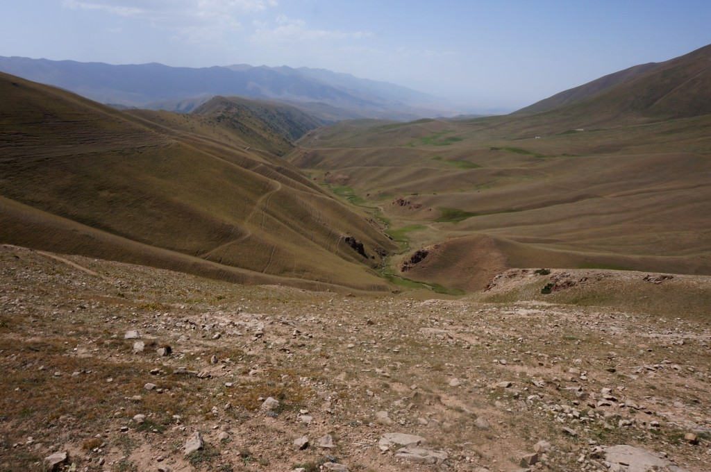 Kirghizistan lac song kul