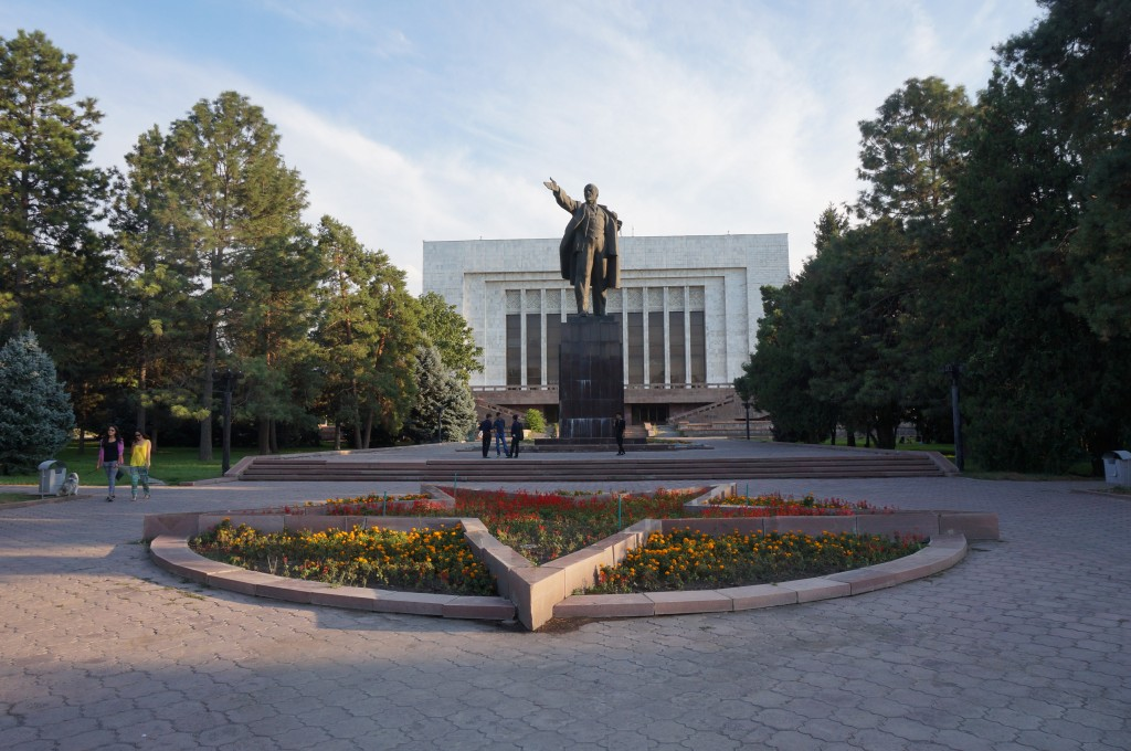 Bichkek Statue de Lénine