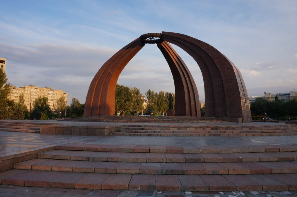 Bichkek Place de la victoire