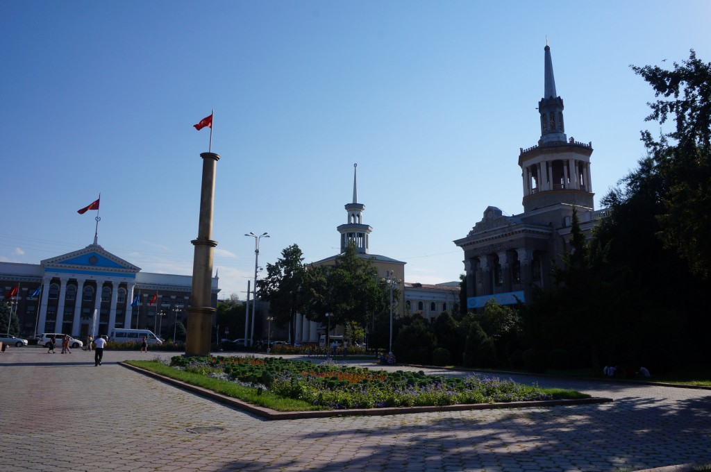 Bichkek Place de la Ville