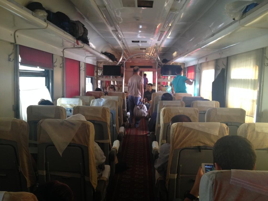 Train ouzbékhistan