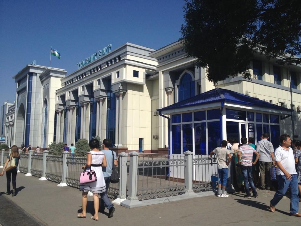 Gare de tashkent