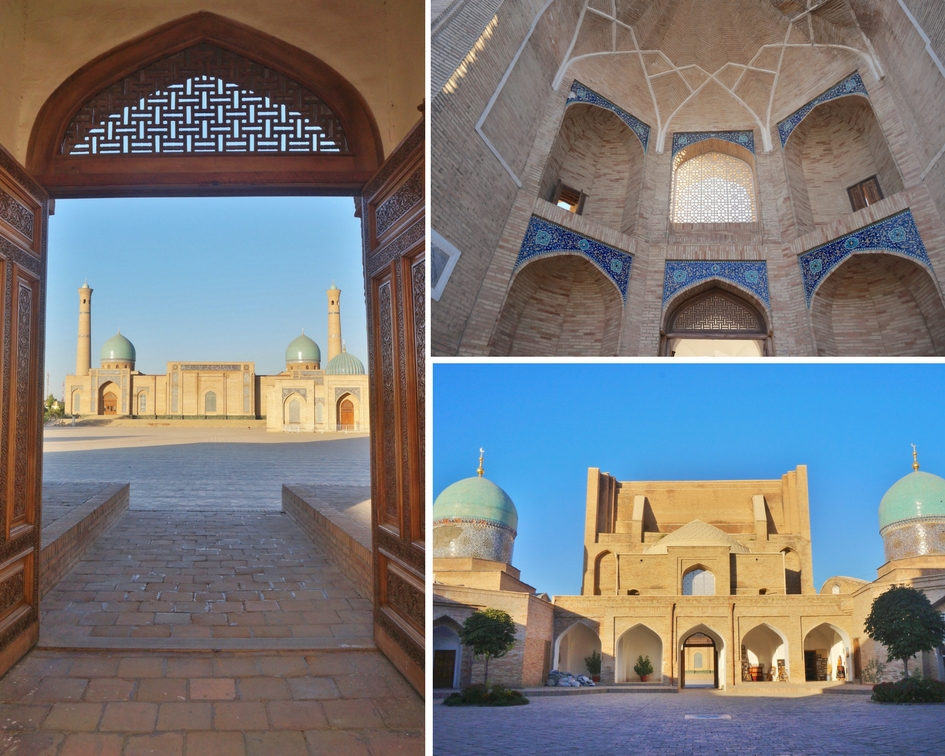 mosquée du vendredi Hazroti Imam tachkent ouzbékistan