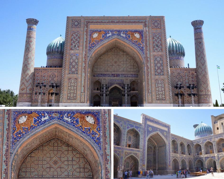 médersa Chir d'or samarcande ouzbekistan
