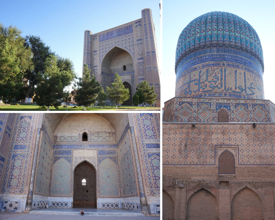 mosquée Bibi Khanoum samarcande ouzbékistan