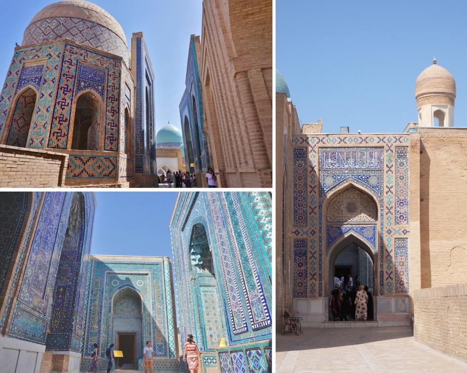 Chah-i-Zinde samarcande ouzbekistan