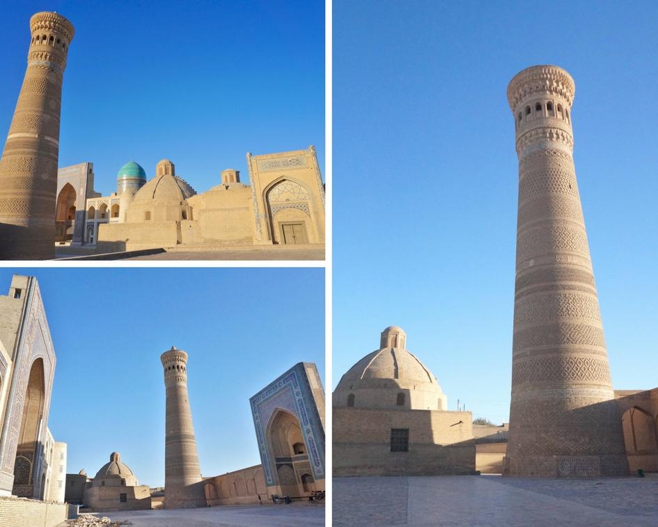 minaret ouzbékistan boukhara