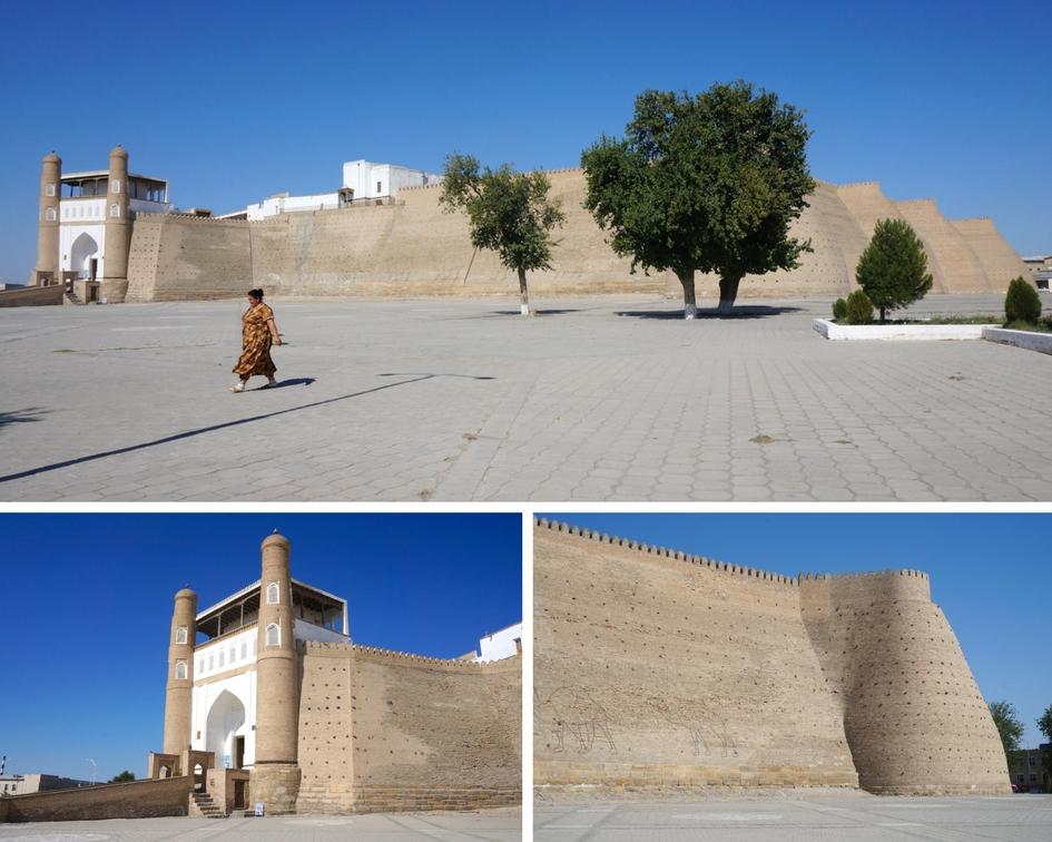 forteresse Arc ouzbékistan boukhara