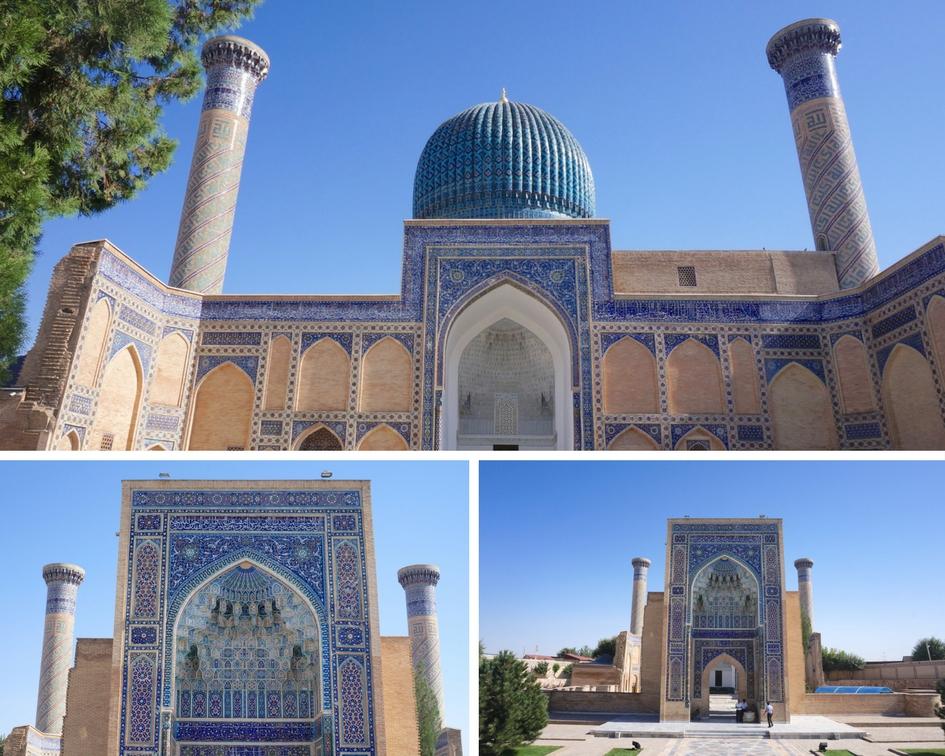 mausolée de Gour-r-amir ouzbékistan samarcande