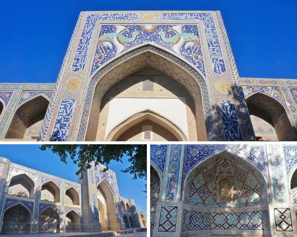 médersa de Nadir Divan-Begui boukhara ouzbékistan
