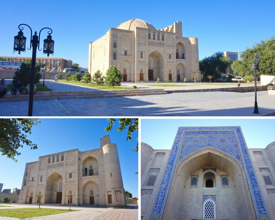 Khanaka de Nadir Divan-Begui boukhara ouzbekistan