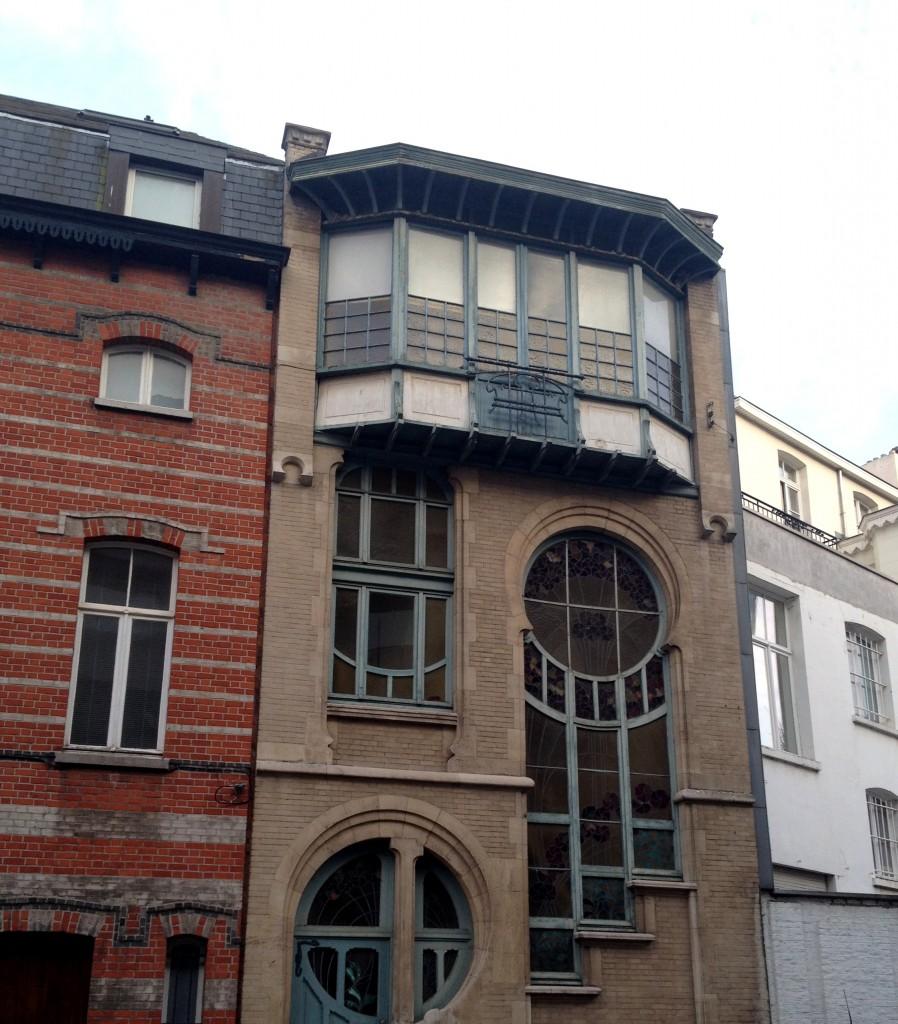 art nouveau bruxelles architecture
