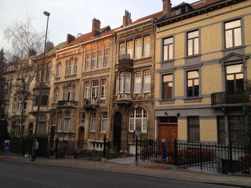 Quartier Bruxelles Art Nouveau