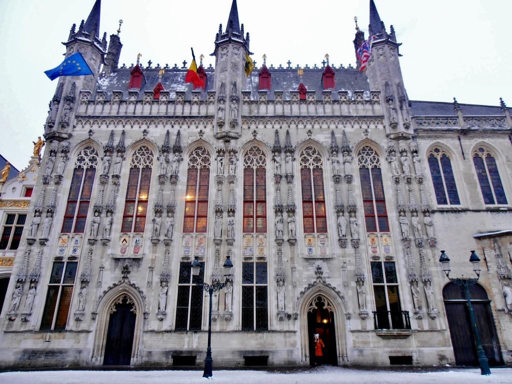 Hotel de ville Bruges