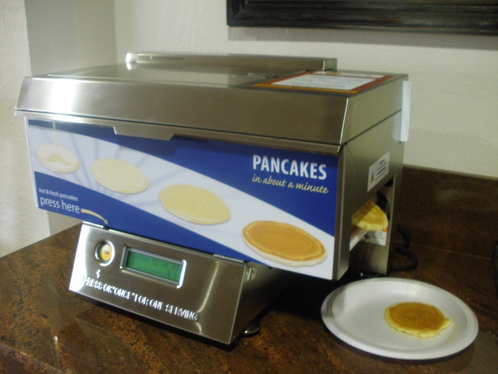 Machine à pancakes