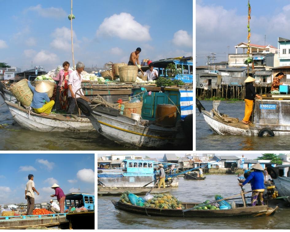 marché cai be vietnam delta du mekong