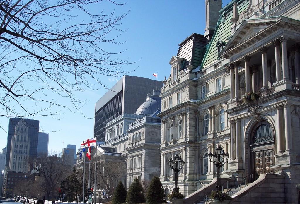 Hôtel de ville Montréal