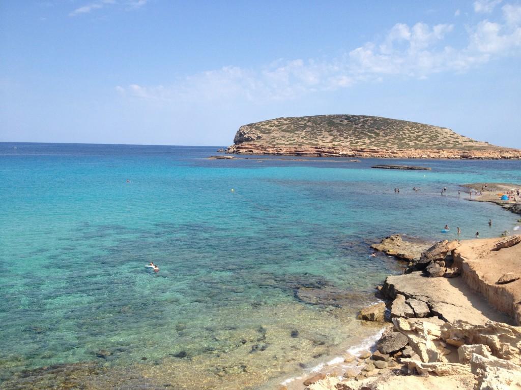 plage Cala Conta Ibiza
