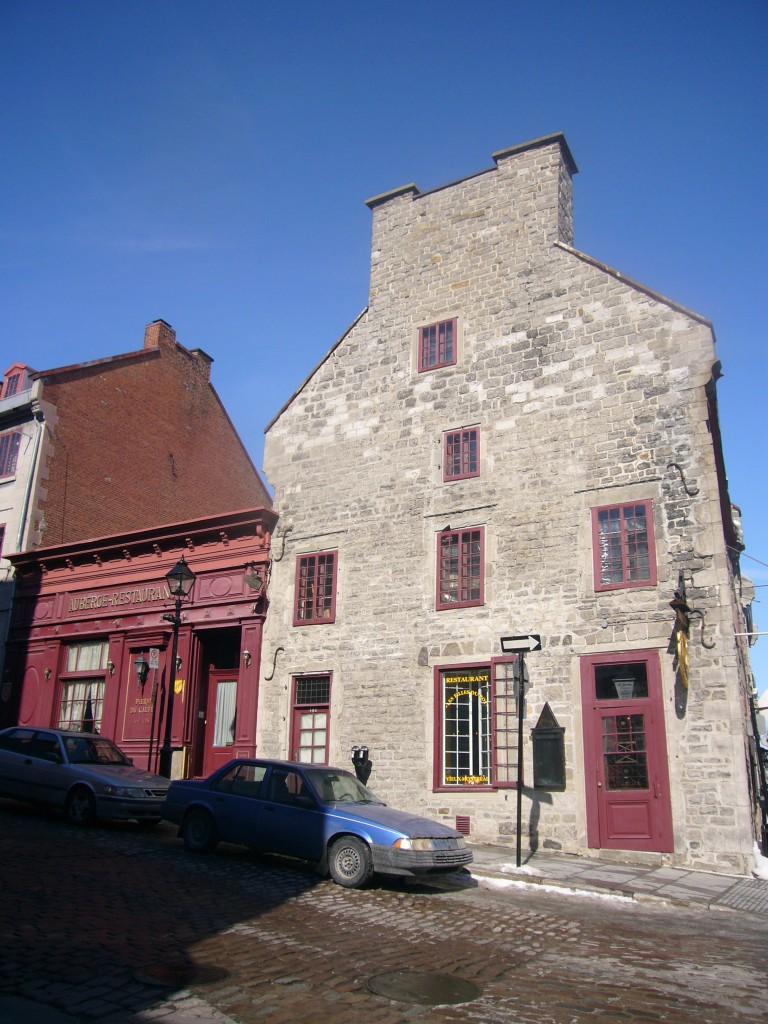 Pierre du calvet house Montréal