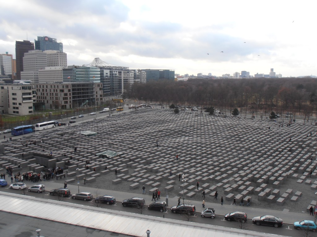 Mémorial aux juifs assassinés d'Europe Berlin