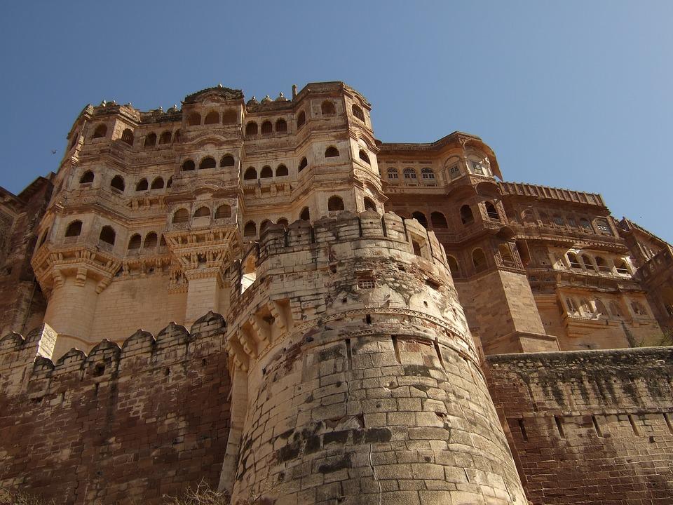 fort Mahrangarth Jodhpur Inde