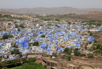 Jodhpur la ville bleue rajasthan inde