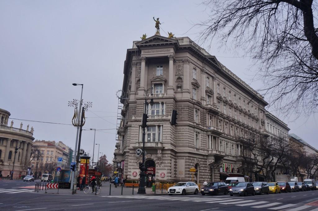 Rue andrassy budapest