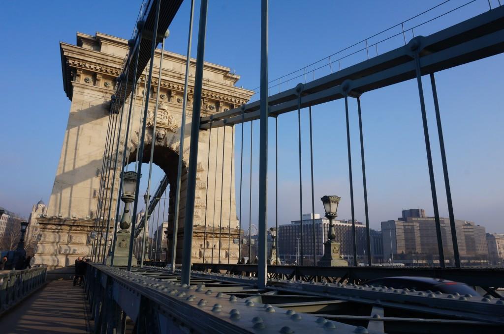 Budapest Pont des chaînes