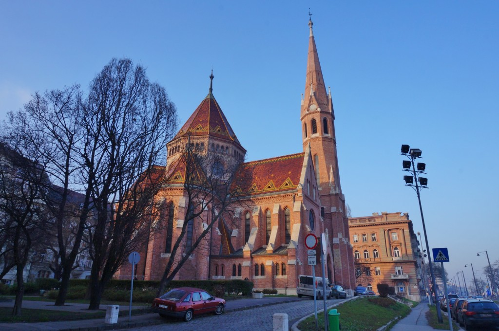 église calviniste Budapest