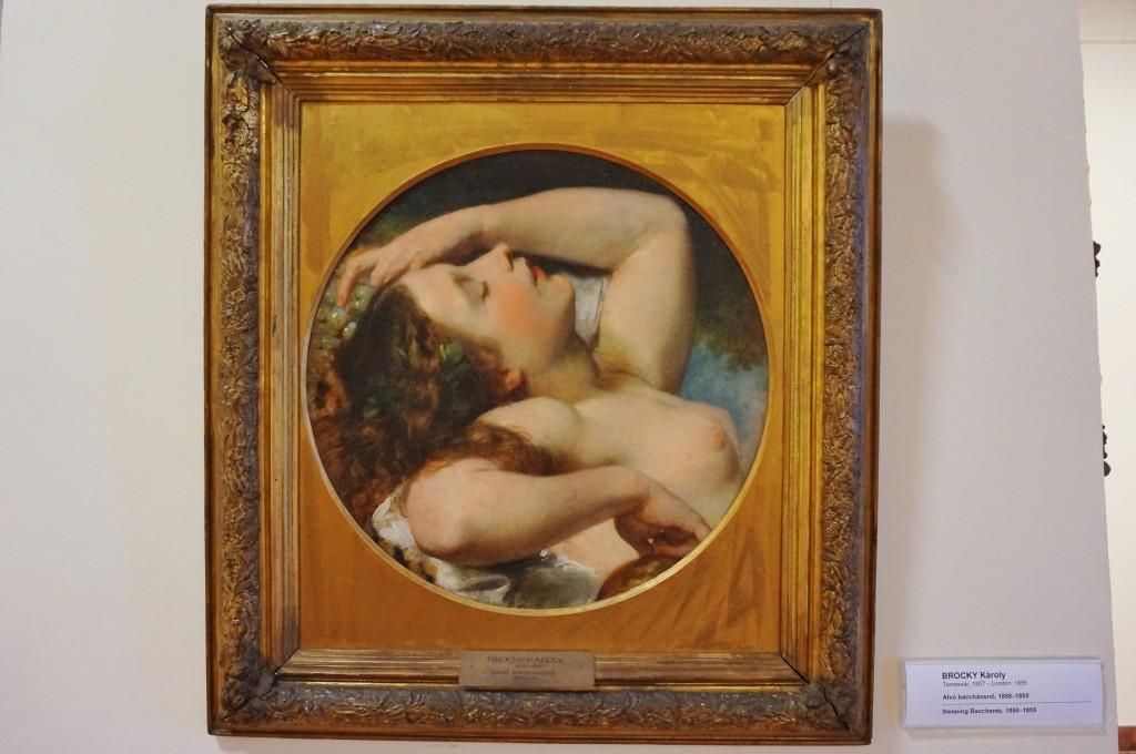 Karoly Brocky peinture budapest
