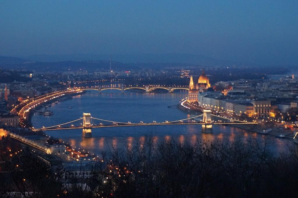 vue panoramique budapest
