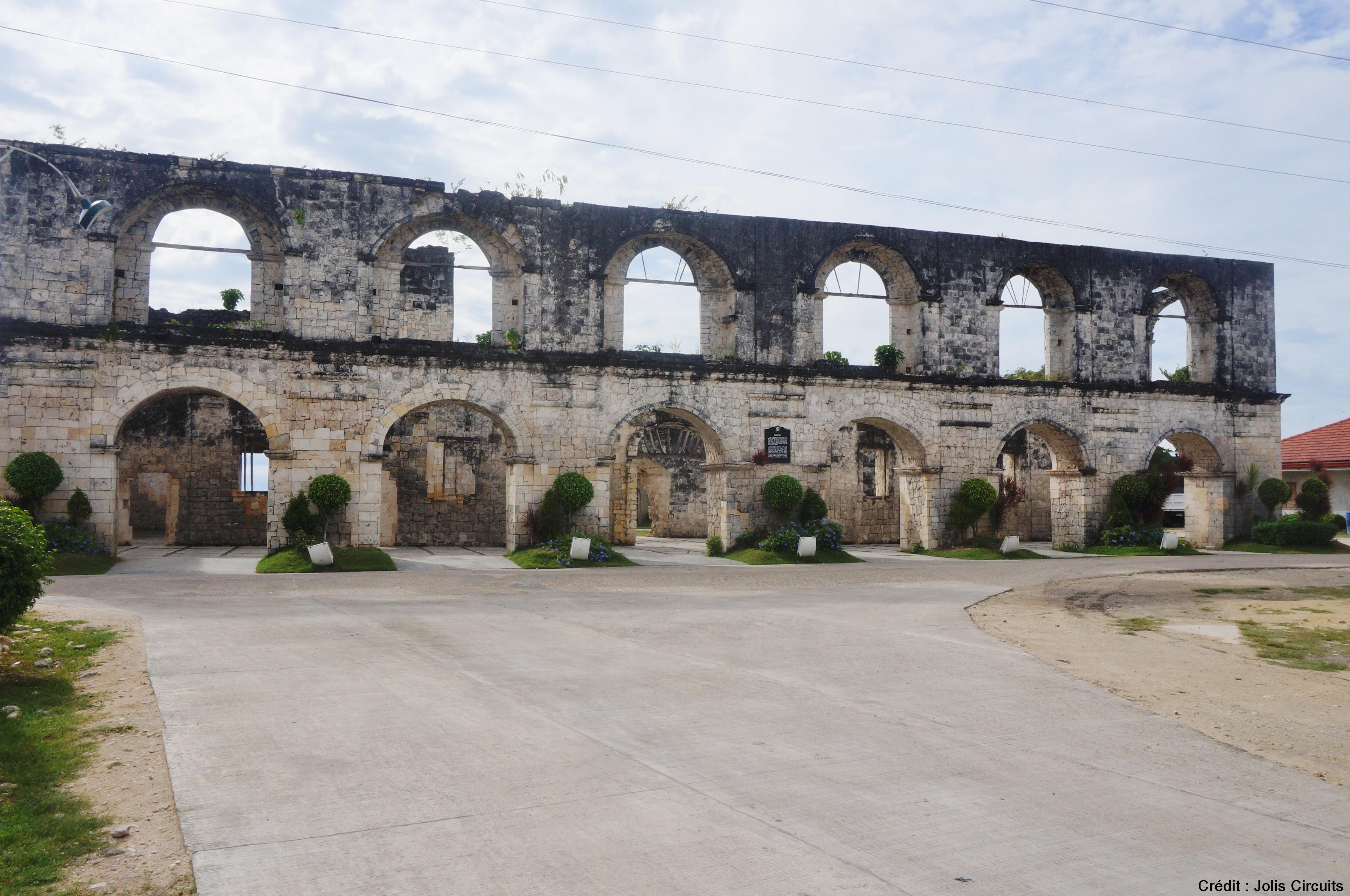 cuartel oslob philippines