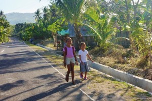 Enfants à Siquijor Philippines