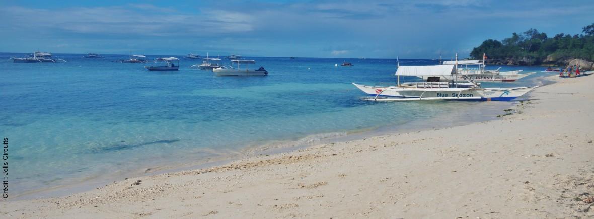 Philippines alona beach panglao
