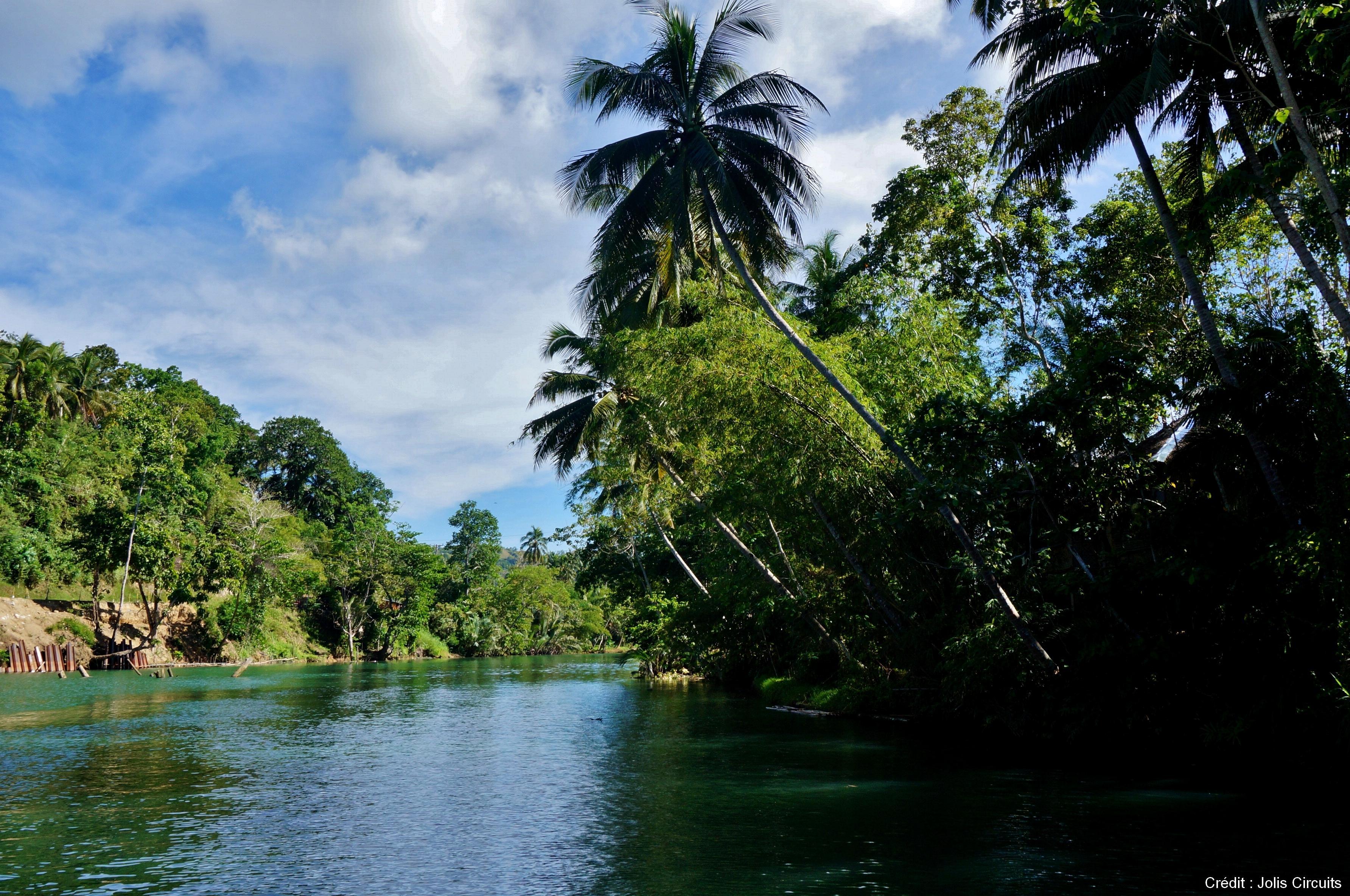 croisiere sur la rivière loboc bohol philippines