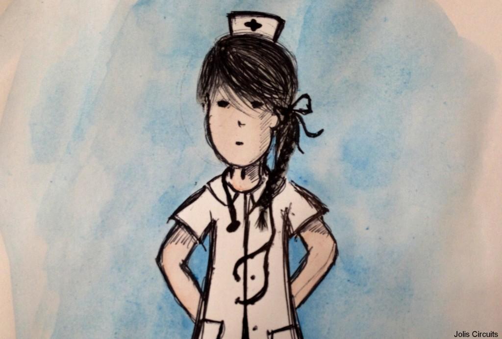 jolie girl infirmière