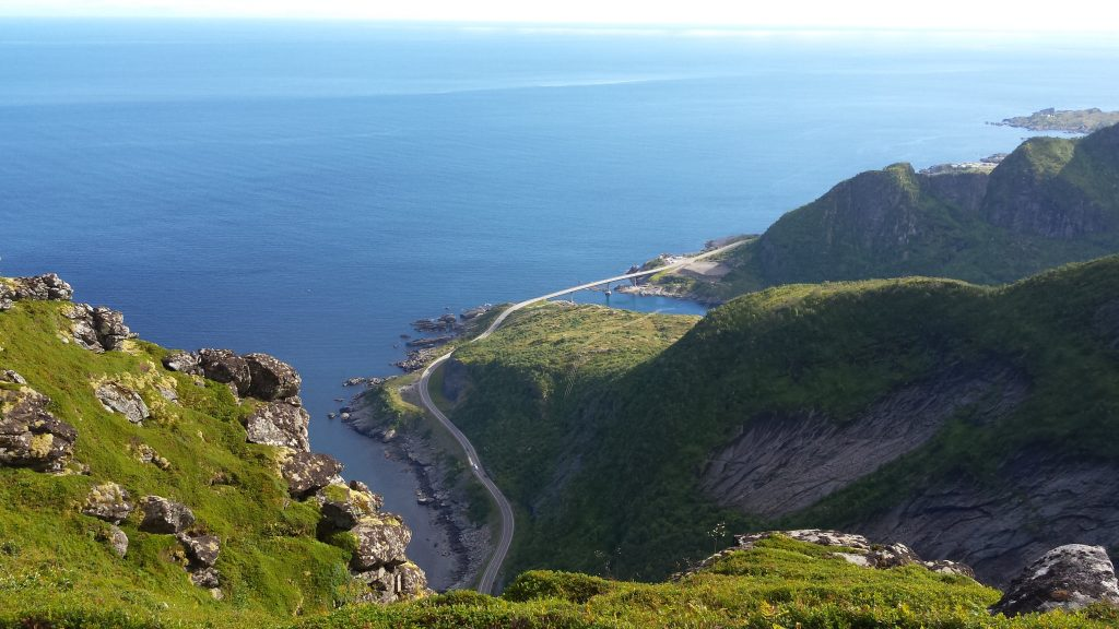 ascension lofoten norvege