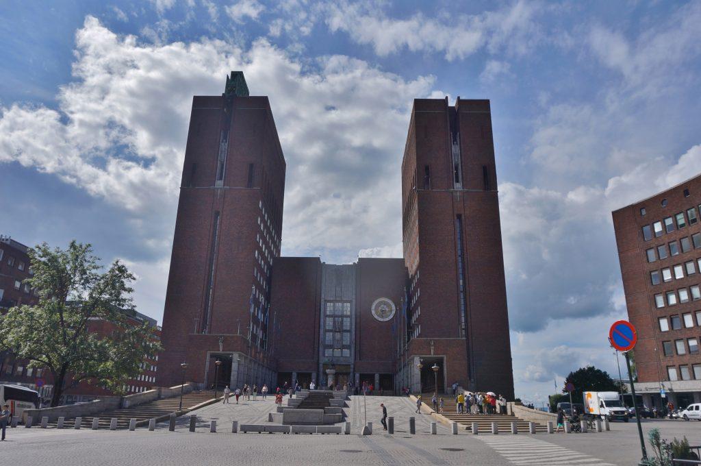 oslo norvege hôtel de ville city hall