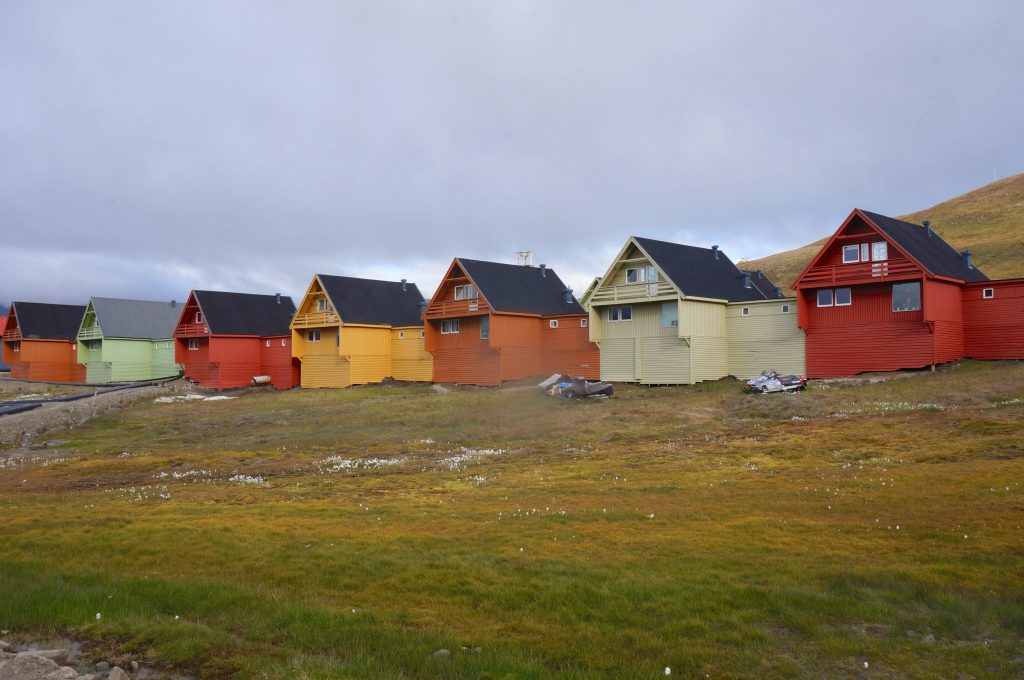 svalbard norvège longyearbyen