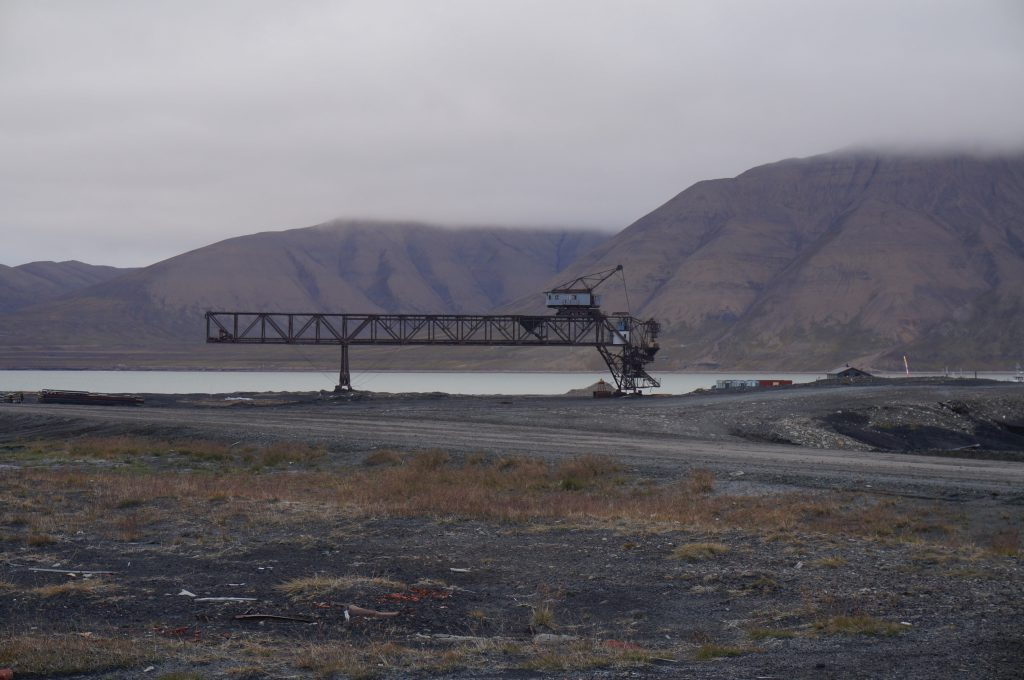 svalbard mine longyearbyen norvege