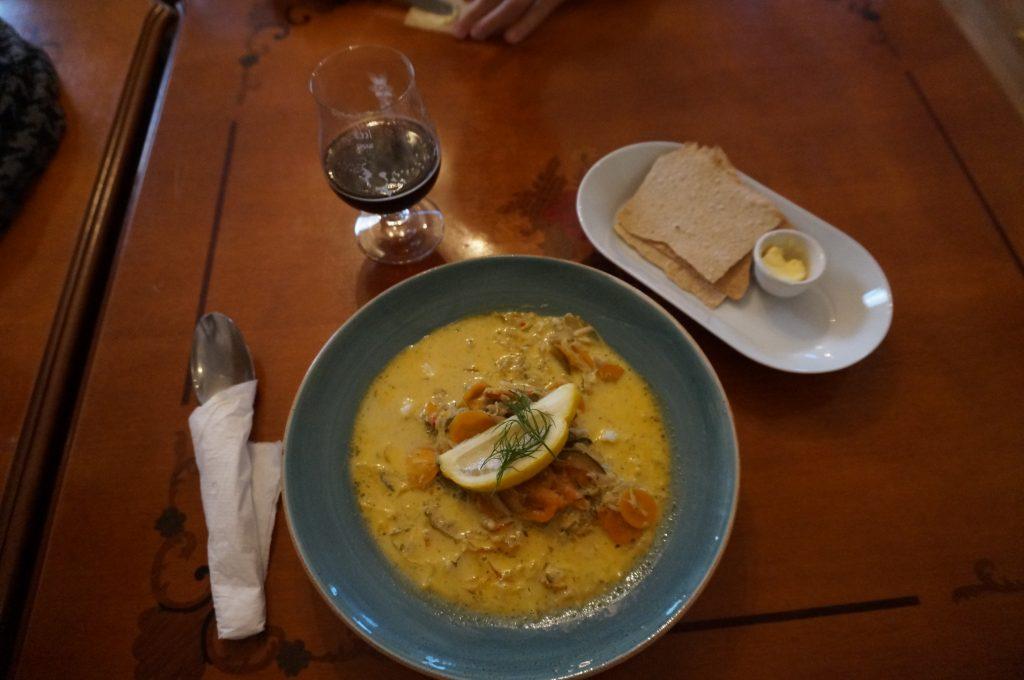 soupe de poisson norvégienne
